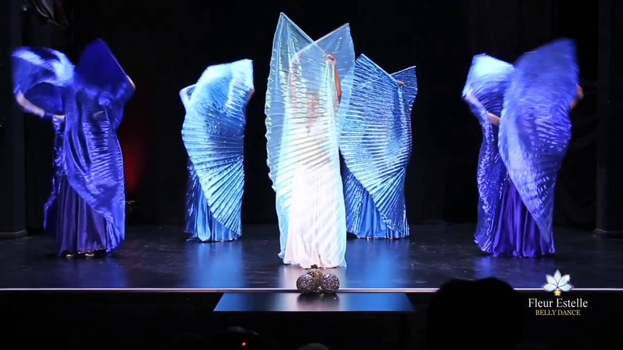 Isis Wings Belly Dance Led By Oloma Fleur Estelle Dance