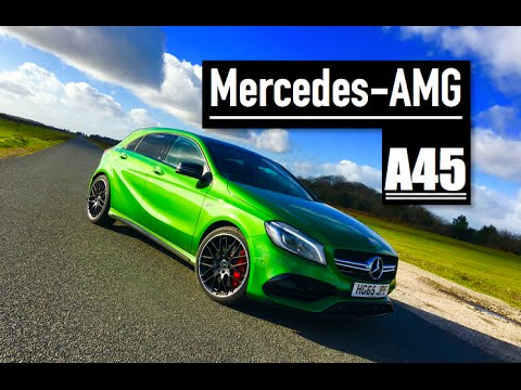 2016 Mercedes AMG A45 Review - Inside Lane
