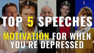 Motivation For When You're Depressed | Top 5 UPLIFTING Speeches | Goalcast