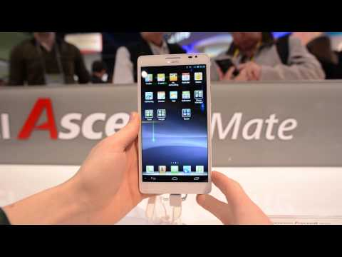 "Biggest Phone Yet? 6.1"" Huawei Ascend Mate Hands On!"