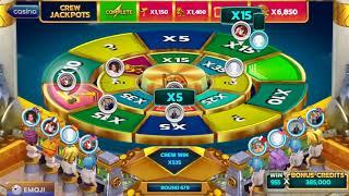 POP SLOTS!NEW GAME CASINO HEIST BONUS ROUND 1.1B WIN!!!