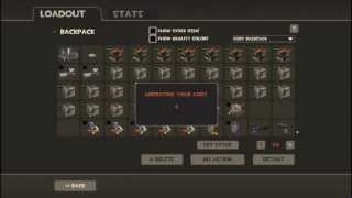 Tf2 Unsual One-Man Army Unboxing! :)