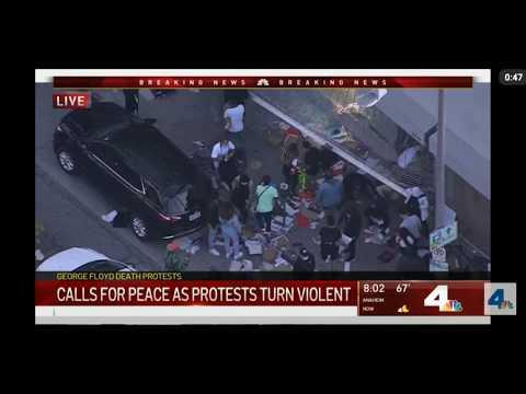 Протесты в столице