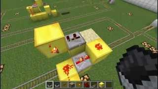 BUD Rail Selector (Tutorial) Minecraft 1.2.5