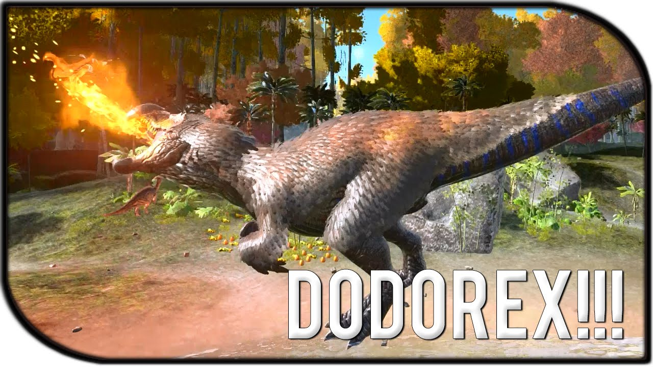 how to get a dodorex in ark
