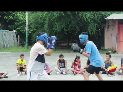 Disciplinas deportivas en zona rural de Chone