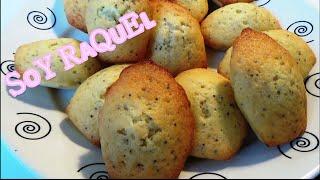Madeleines easy recipe _ Magdalenas francesas