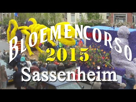 Bloemencorso Bollenstreek 2015 Sassenheim