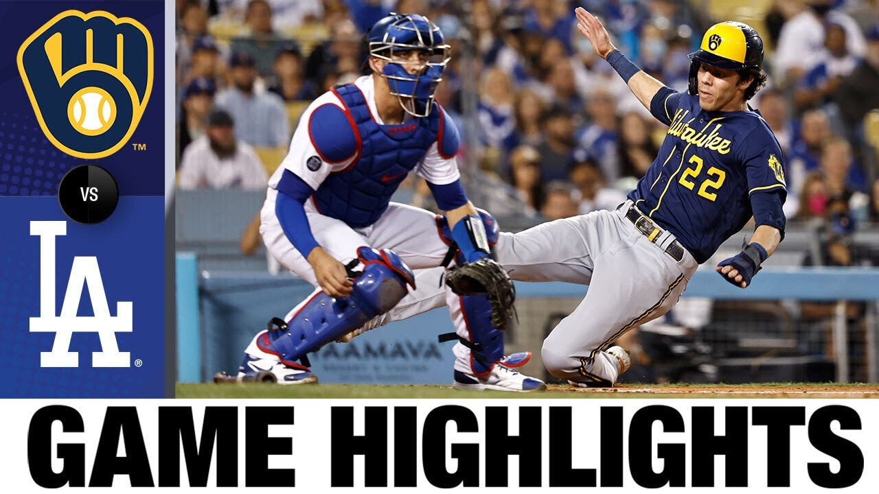 Download Brewers vs. Dodgers Game Highlights (10/1/21)   MLB Highlights