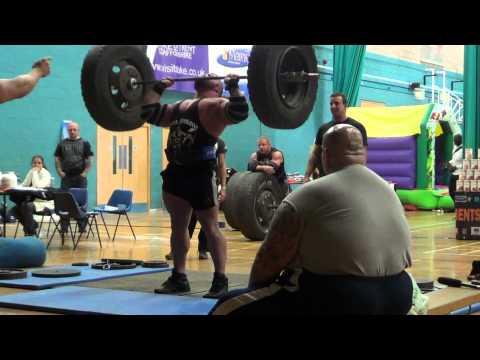 Eddie Hall | 130kg Axle Press
