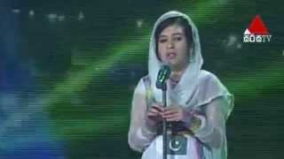 Marryum Hussain - The soft song of peace (Pakistan) - ABU Radio Song Festival 2014