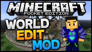 Minecraft PE 0.11.0 - World Edit MOD