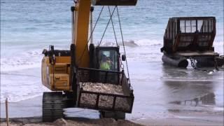 Phipps Ocean Park Beach Renourishment 2016 Palm Beach