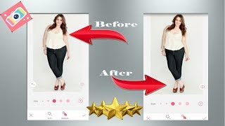 Way to Look slimmer in photos Using BeautyPlus App by meartist.in|| Schau schlank in Fotos mit