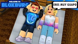 J'ai trouvé un NOVIA EN BLOXBURG !! I INVITED HER TO MY HOUSE AND HAPPENED THIS... - Roblox