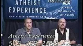 The Atheist Experience - Man came from a monkey thumbnail