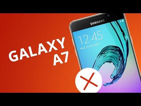 5 motivos para NO COMPRAR el Samsung Galaxy A7 2016