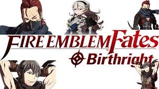 Fire Emblem Fates: Birthright - Female Avatar Kamui|Corrin & Saizo Support Conversations