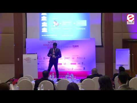 WES 2016 Dubai - Mithun Nair, Business Analyst, Orion India Systems Pvt Ltd