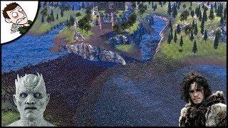 MASSIVE 40000 WESTEROS v WIGHTS SURVIVAL BATTLE - Ultimate Epic Battle Simulator Gameplay