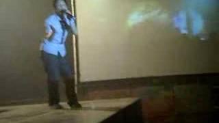 97學年校園迎新演唱會-主持人陳漢典跳舞