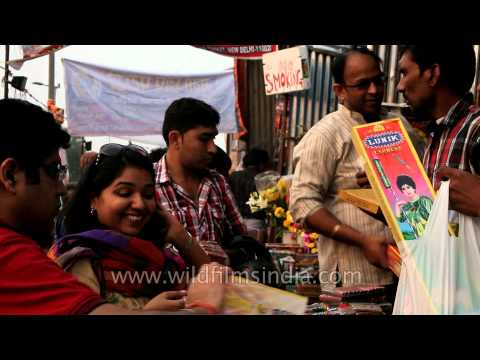 Pick your choice: People buying firecrackers in Delhi