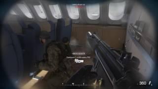 Call of Duty Modern Warfare Remastered   Секс в самолете.