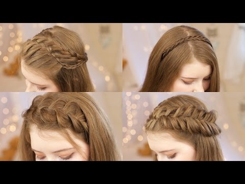 5 Headband Braids | Back to School Hairstyles