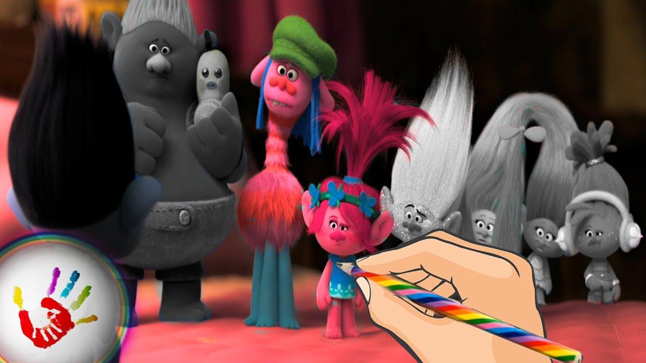 Trolls Princess Poppy Branch, Biggie and Guy Diamond Talking ...