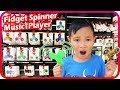 Fidget Spinner Toy Hunt At Shopping Mall 5 Light Up Music Player Spinner TigerBox HD mp3