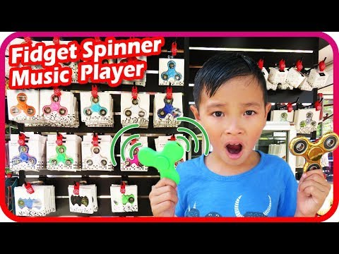 Fidget Spinner Toy Hunt at Shopping Mall 5, Light Up Music Player Spinner - TigerBox HD