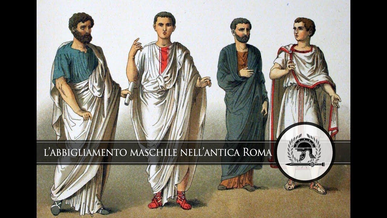 hot sale online 319de da2b8 Simbologia dell'abbigliamento maschile nell'antica Roma