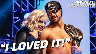 Johnny & Taya Explain Their Despicable Betrayal of Brian Cage | IMPACT! Highlights Mar 22, 2019