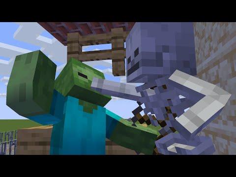 Zombie Life 2 - Minecraft Animation - Видео из Майнкрафт (Minecraft)