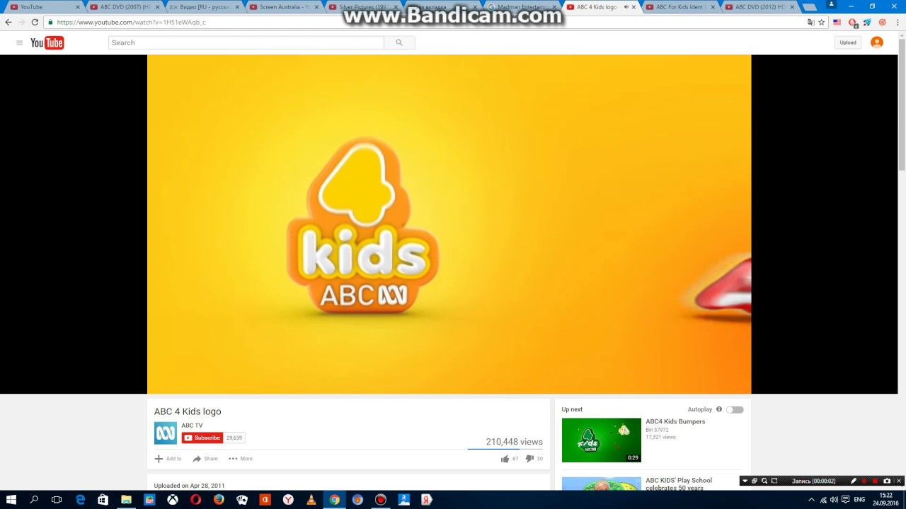 abc 4 kids logo youtube