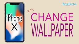 Gambar cover iPhone X - How to Change the Wallpaper