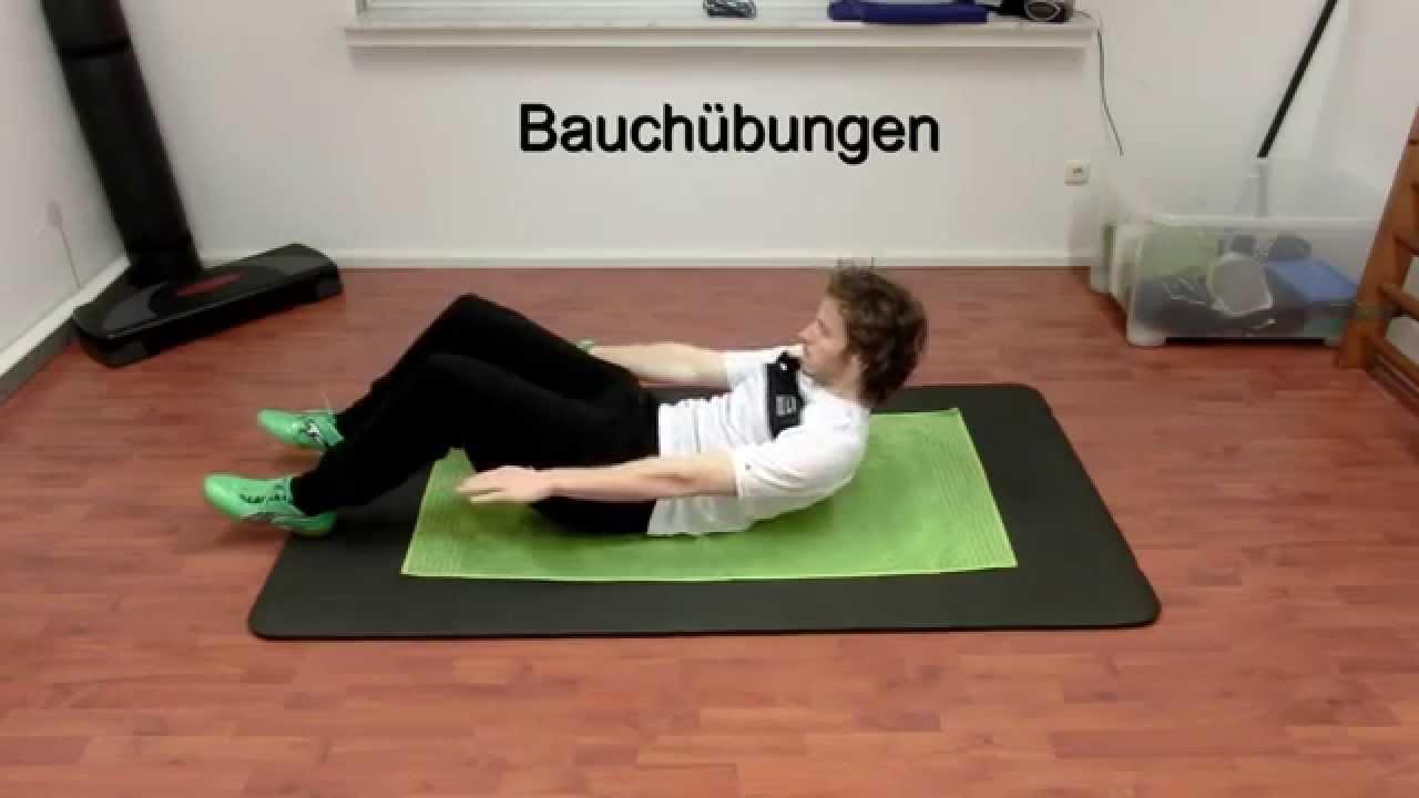 15 Kraftübungen Rücken Und Bauch Mit Eigengewicht Youtube