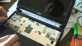 видео Ремонт ноутбука Acer Aspire One AO721