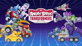 Autobots vs Decepticons | Angry Birds Transformers HD Android Gameplay