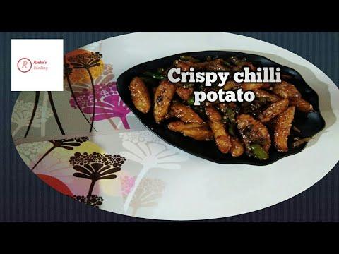 shezwan chilli potato