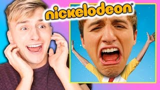 """REACTING TO MY FAILED NICKELODEON SHOW """"MARVIN MARVIN"""""""