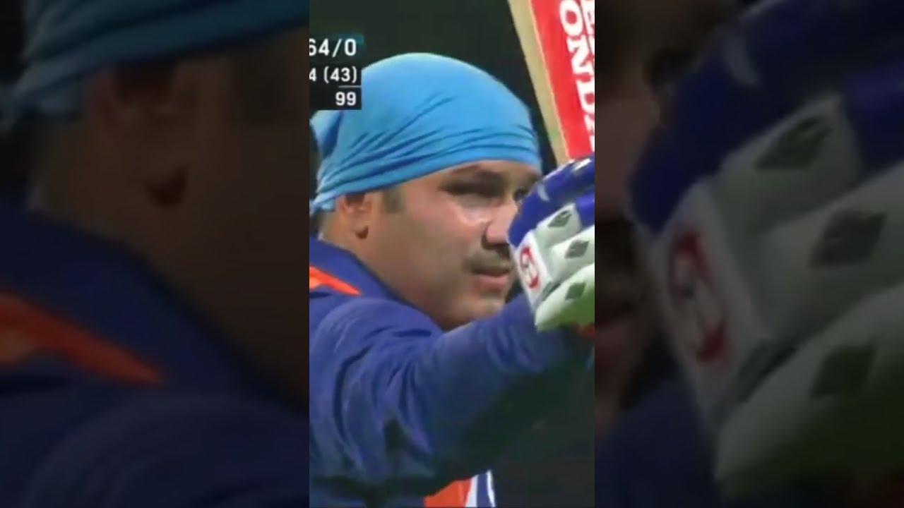 വീരനായകൻ വീരു   Virender Sehwag Smash shots WhatsApp status   Cricket