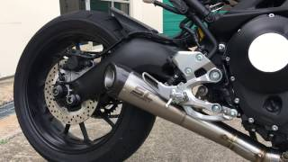 Yamaha XSR900 - Conic 3-1 Full System Exhaust by SC-Project