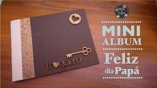Mini Album para Papa ¡Super facil!