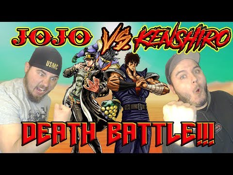 NANI!!! JOTARO VS KENSHIRO Death Battle Reaction