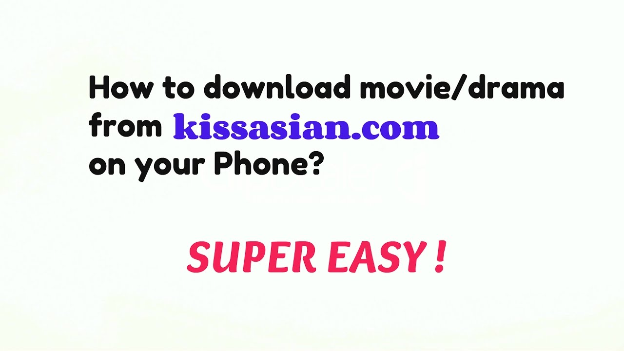 How to download any korean drama/movie for free with english.