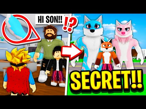 My Family Were SECRET FURRIES in Roblox BROOKHAVEN RP!!