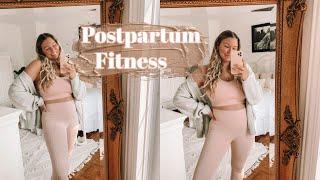 MY POSTPARTUM FITNESS // Current Workout Routine + Health Update!