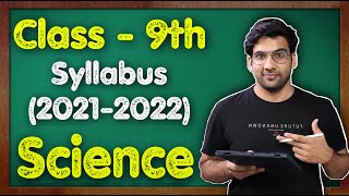 Class 9th Science Syllabus (2021-22) CBSE || Chapterwise || #MKR