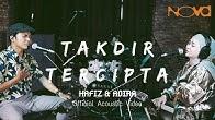 HAFIZ & ADIRA - Takdir Tercipta | Official Acoustic Video